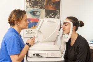 Augenlaser Voruntersuchung